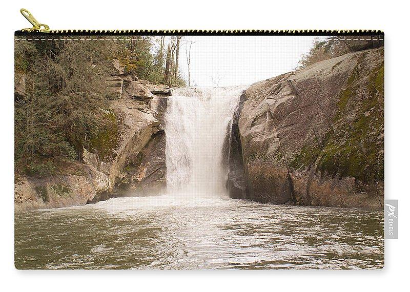 Elk Carry-all Pouch featuring the photograph Elk Creek Falls 36 by Douglas Barnett