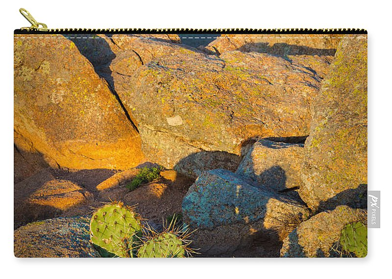 America Carry-all Pouch featuring the photograph Elk Mountain Sunset by Inge Johnsson