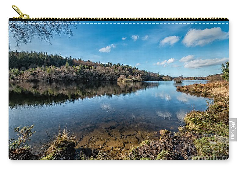 Betws Y Coed Carry-all Pouch featuring the photograph Elsi Reservoir by Adrian Evans