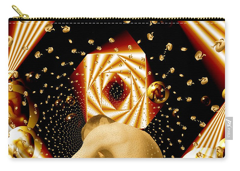 Nudes Carry-all Pouch featuring the photograph Embryonic Voyage by Kurt Van Wagner