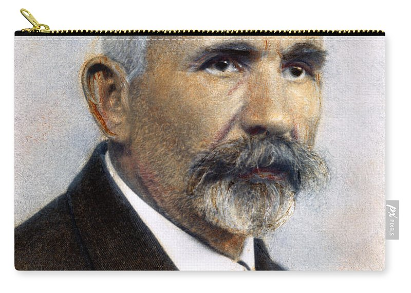 19th Century Carry-all Pouch featuring the photograph Emil Kraepelin (1856-1926) by Granger