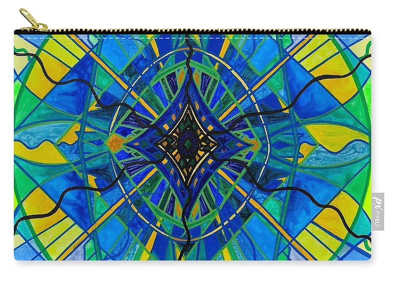 Carry-all Pouch featuring the painting Emotional Expression by Teal Eye Print Store
