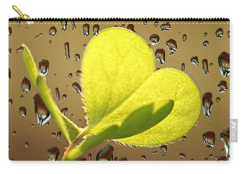 Heart Carry-all Pouch featuring the photograph Emotions by Heike Hultsch