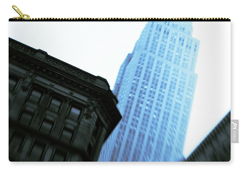 Empire State Building Carry-all Pouch featuring the photograph Empire State Building by Dave Bowman