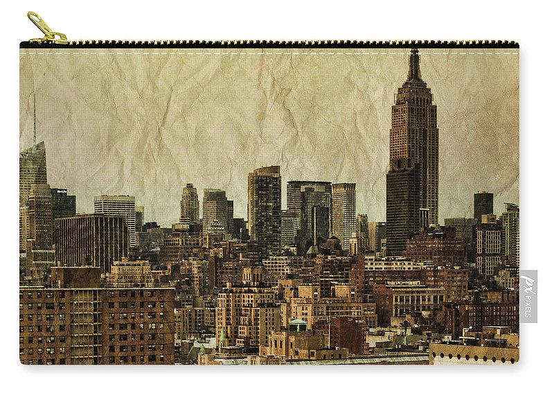 New Carry-all Pouch featuring the photograph Empire Stories by Andrew Paranavitana