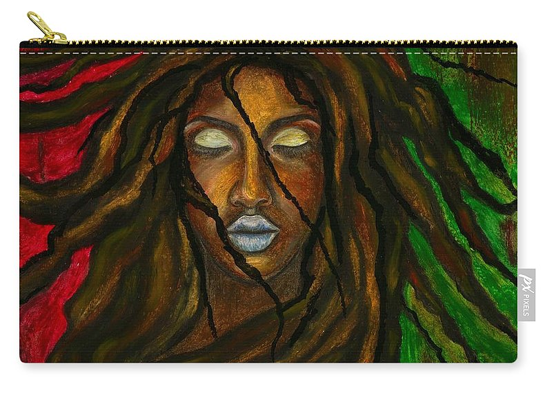 Beautiful Carry-all Pouch featuring the photograph Empress Divine by Artist RiA
