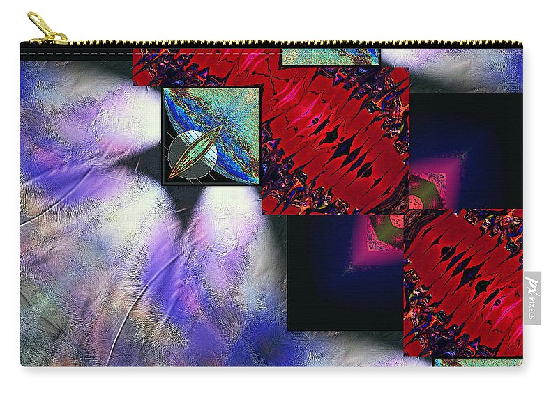 Empty Carry-all Pouch featuring the digital art Empty Hearted Sky by Michael Damiani