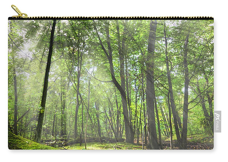Nature Carry-all Pouch featuring the photograph Enchanted Forest by Alexey Stiop