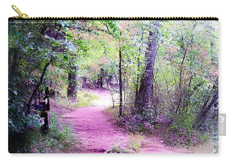 Forest Carry-all Pouch featuring the photograph Enchanted Forest by Maria Urso