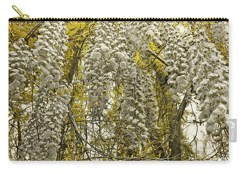 Wisteria Carry-all Pouch featuring the photograph Enchanted Garden by Mother Nature