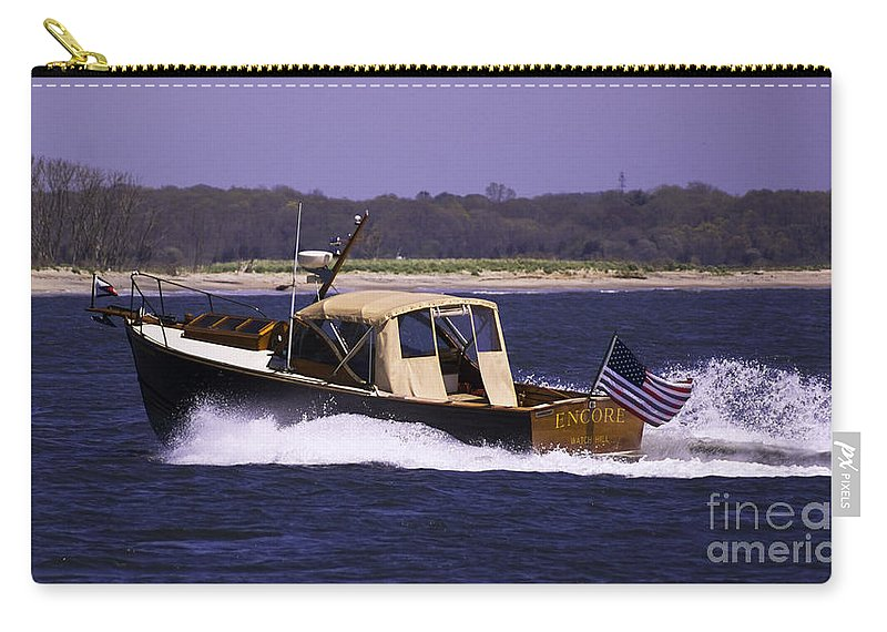 Borough Carry-all Pouch featuring the photograph Encore Encore by Joe Geraci