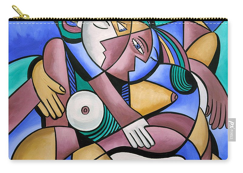 Endless Love Carry-all Pouch featuring the painting Endless Love by Anthony Falbo