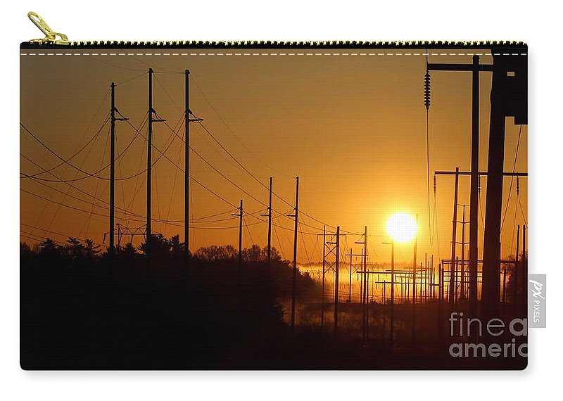 Sun Carry-all Pouch featuring the photograph Energy by Kenny Glotfelty
