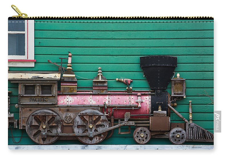 Train Photographs Carry-all Pouch featuring the photograph Engine Number 23 Unframed by Tikvah's Hope