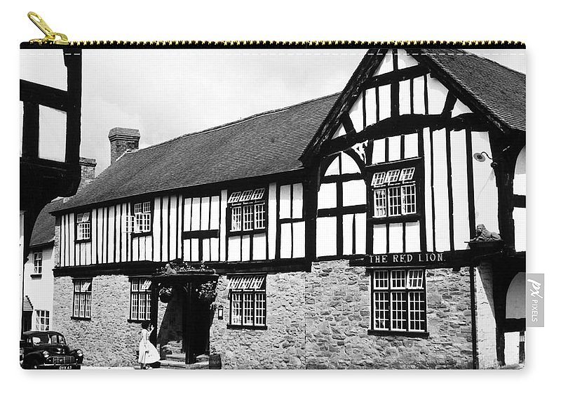 20th Century Carry-all Pouch featuring the photograph England: Red Lion Inn by Granger