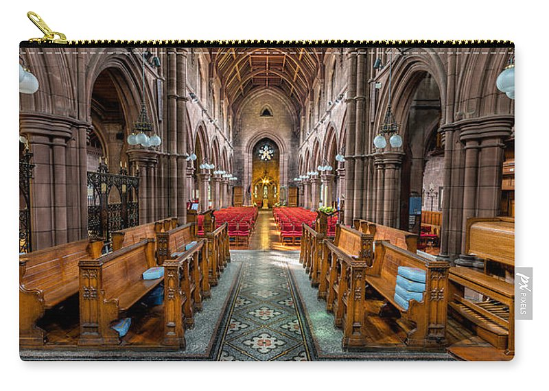 Church Carry-all Pouch featuring the photograph English Church by Adrian Evans