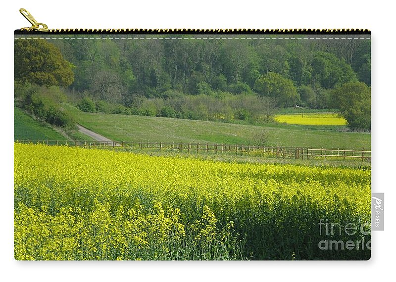 England Carry-all Pouch featuring the photograph English Countryside by Ann Horn