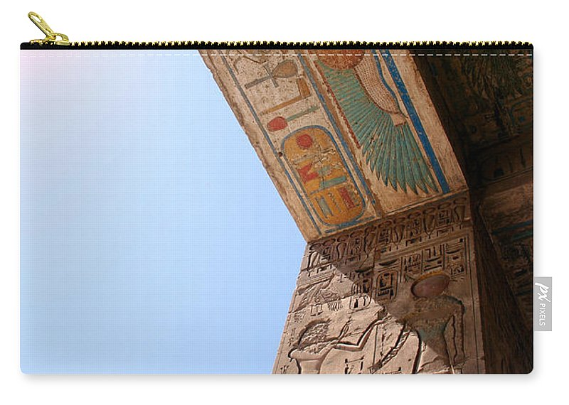 Egypt Carry-all Pouch featuring the photograph Enter The Ancient by A Rey