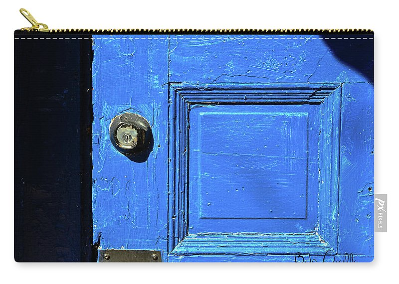City Carry-all Pouch featuring the photograph Entrance To Babylon by Bob Orsillo