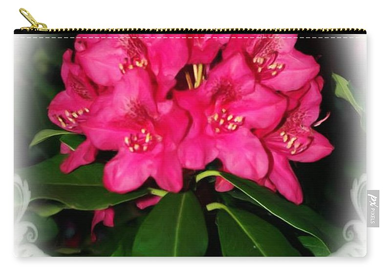 Jesus Carry-all Pouch featuring the digital art Ephesians 1 7 by Michelle Greene Wheeler