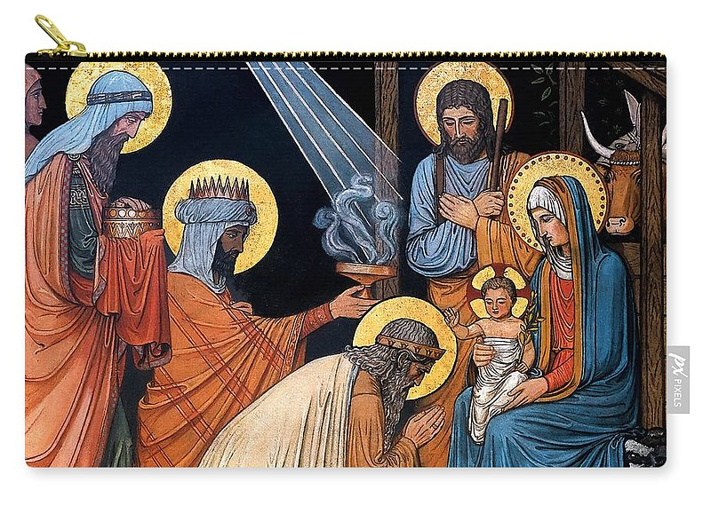 Epiphany Carry-all Pouch featuring the photograph Epiphany by Munir Alawi