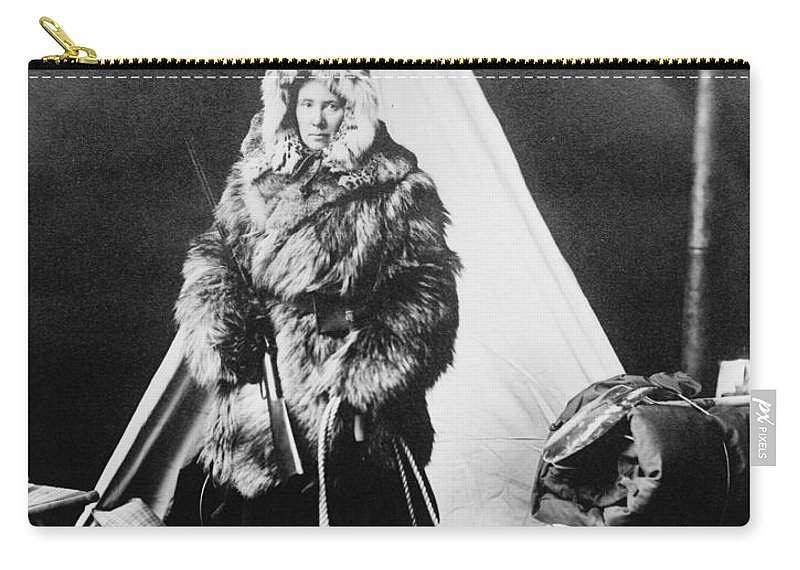 20th Century Carry-all Pouch featuring the photograph Eskimo Woman by Granger