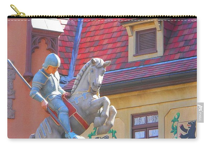 St. George Carry-all Pouch featuring the photograph Essence Of Germany by Rachel Kaufmann