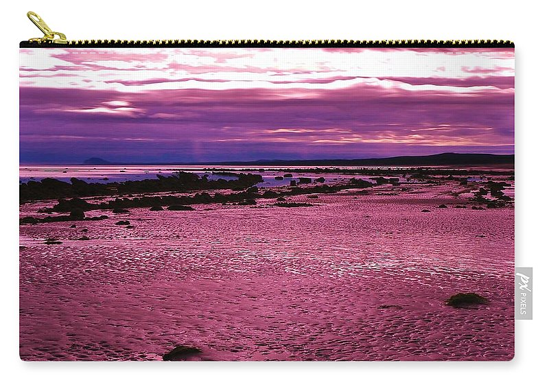 Eternal Tides Carry-all Pouch featuring the photograph Eternal Tides by Barbara St Jean