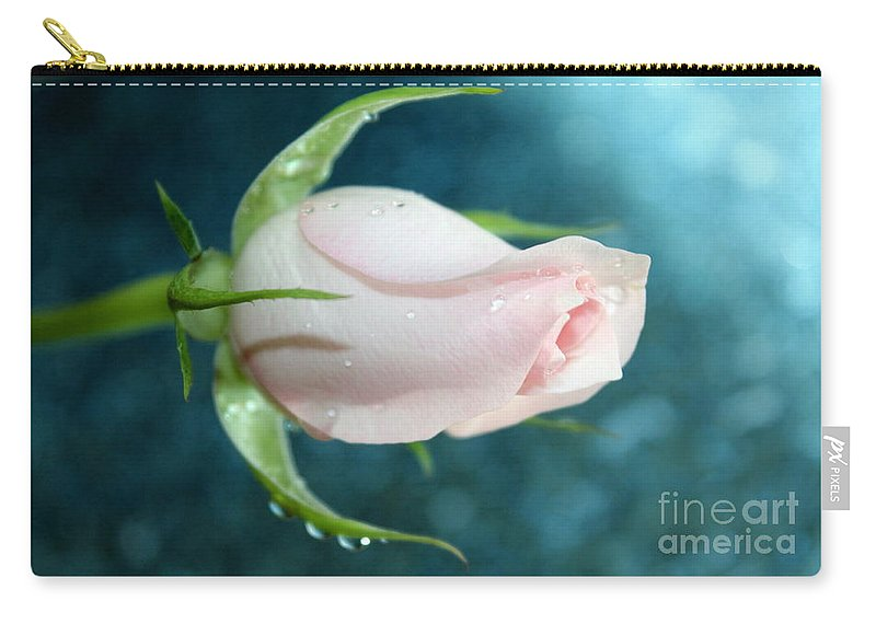 Rose Carry-all Pouch featuring the photograph Eternity by Krissy Katsimbras