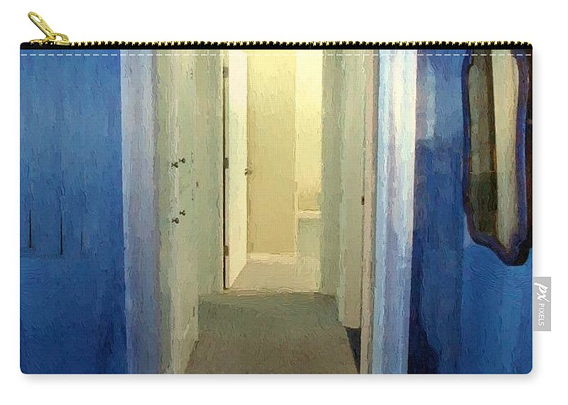 Room Carry-all Pouch featuring the painting Eternity's Antechamber by RC DeWinter