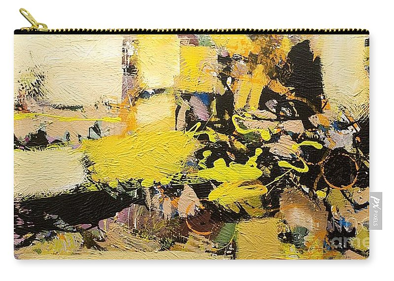 Landscape Carry-all Pouch featuring the painting Euclid by Allan P Friedlander