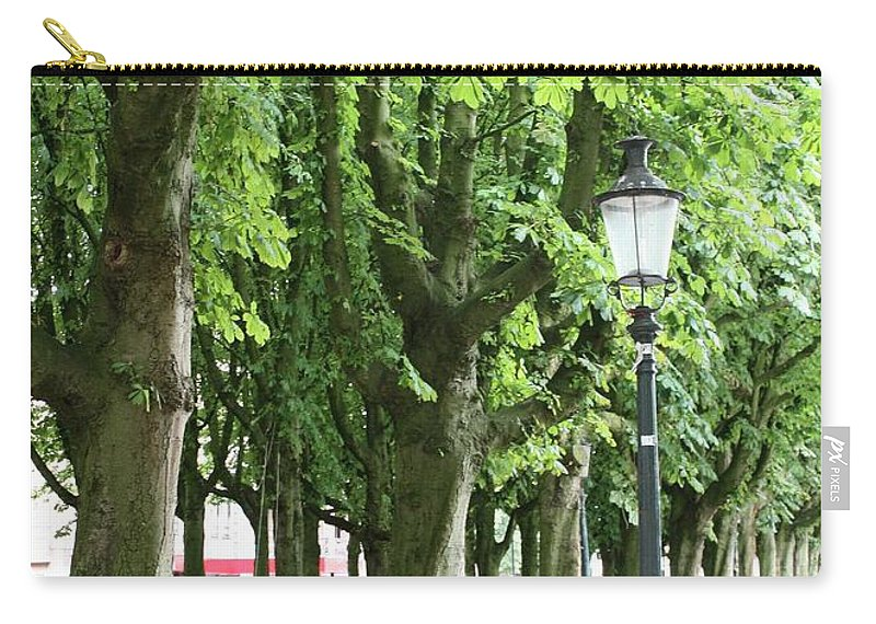 European Parks Carry-all Pouch featuring the photograph European Park Trees by Carol Groenen