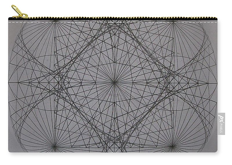 Event Horizon Carry-all Pouch featuring the digital art Event Horizon by Jason Padgett