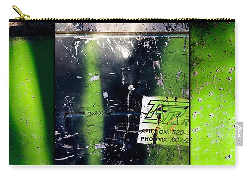 Evergreen Carry-all Pouch featuring the photograph Evergreen by Marlene Burns
