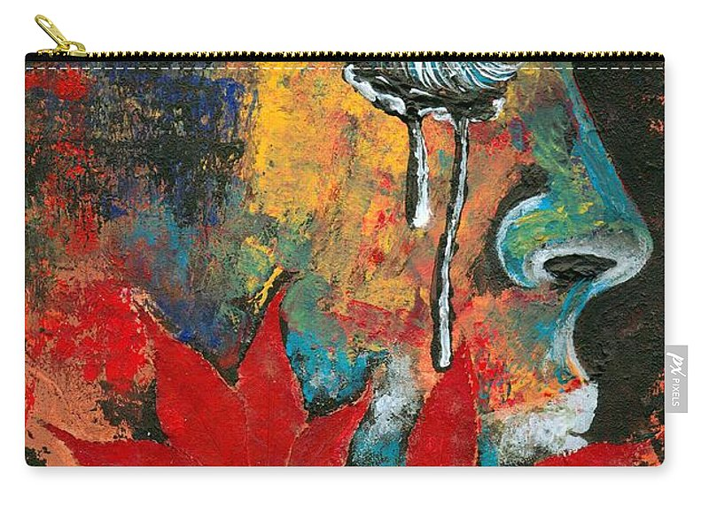 God Carry-all Pouch featuring the photograph Eves Sin by Artist RiA