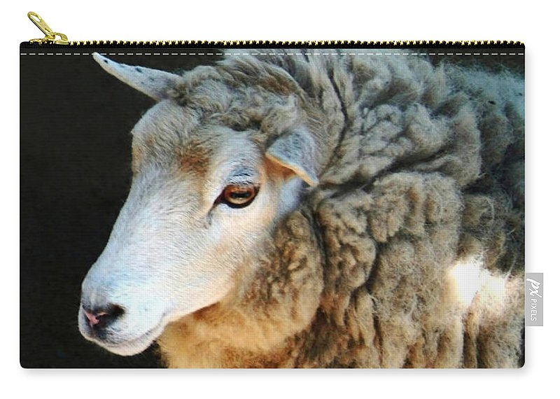 Ewe Are So Beautiful Carry-all Pouch featuring the photograph Ewe Are So Beautiful by Ellen Henneke