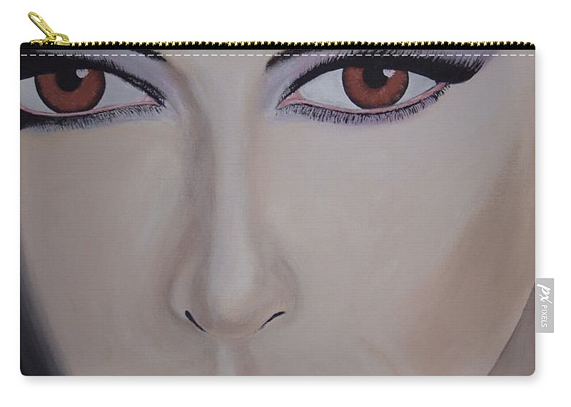 Exotic Carry-all Pouch featuring the painting Exotica by Dean Stephens