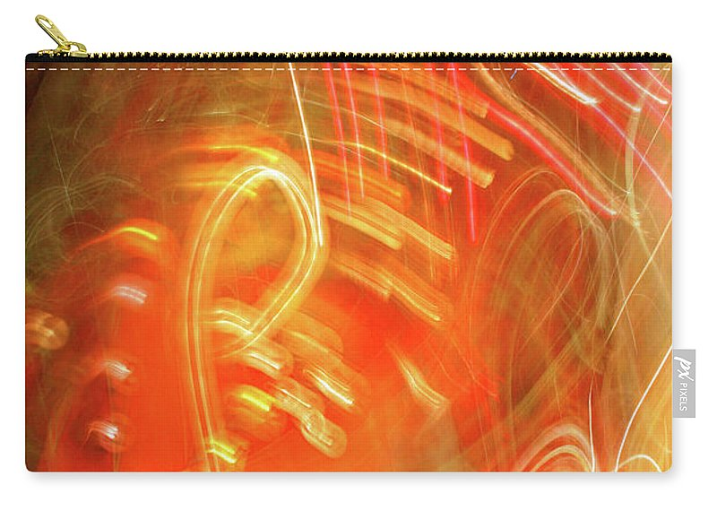 Decorator Art Carry-all Pouch featuring the photograph Extra Ball Time by Ric Bascobert