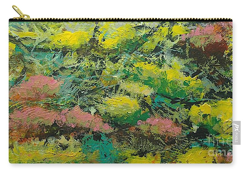 Landscape Carry-all Pouch featuring the painting Extract by Allan P Friedlander