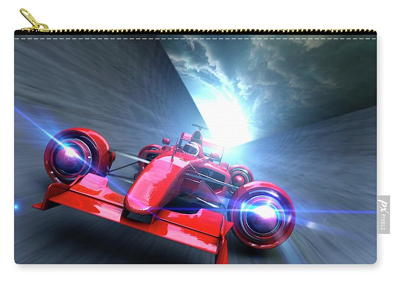 People Carry-all Pouch featuring the photograph Extreme High Performance by Colin Anderson