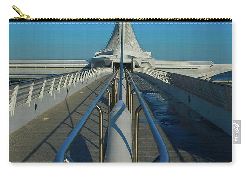Calatrava Santiago Carry-all Pouch featuring the photograph Eye Of The Beholder by Jonah Anderson