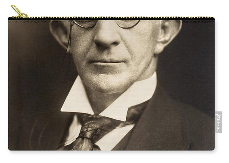 1890 Carry-all Pouch featuring the photograph Eyeglasses, C1900 by Granger