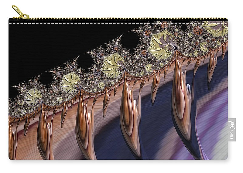 Petals Carry-all Pouch featuring the photograph F927 Roots by Carlos Diaz
