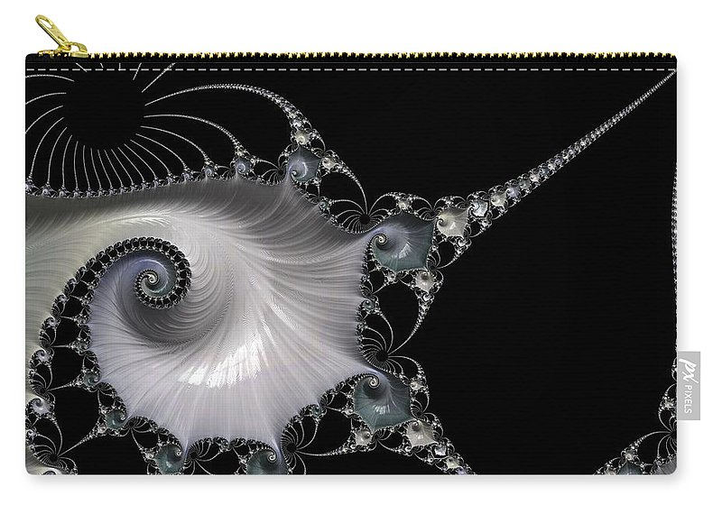 Unicorn Carry-all Pouch featuring the photograph Abstract Unicorn 41945 by Carlos Diaz
