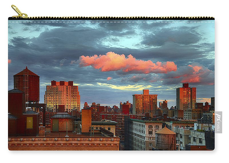Tranquility Carry-all Pouch featuring the photograph Facing East by Joe Josephs Photography