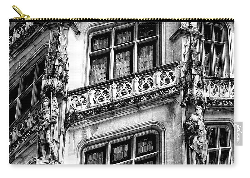Biltmore Estate Carry-all Pouch featuring the photograph Facing Windows Biltmore Nc by William Dey