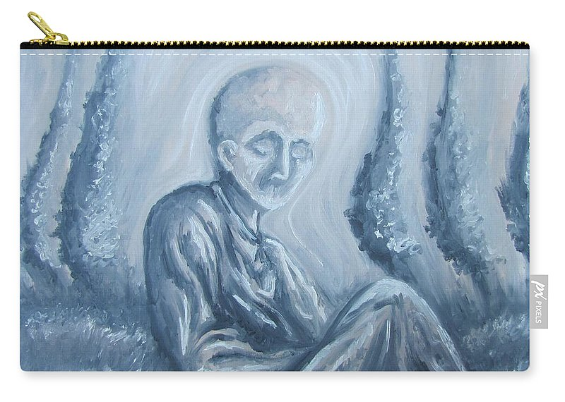 Tmad Carry-all Pouch featuring the painting Fade Away by Michael TMAD Finney