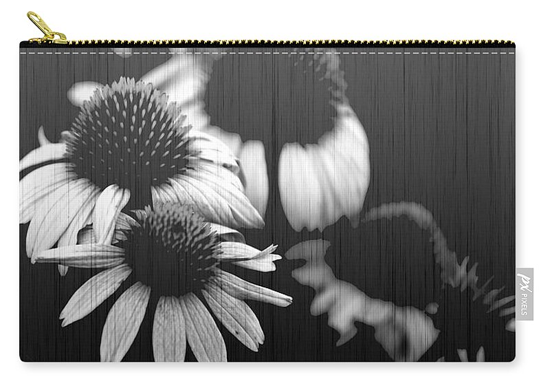 Echanecia Carry-all Pouch featuring the photograph Faded Memory by Amanda Barcon