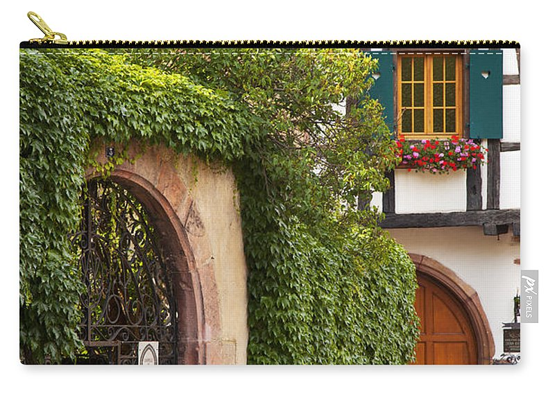 Kaysersberg Carry-all Pouch featuring the photograph Fairytale Village by Brian Jannsen