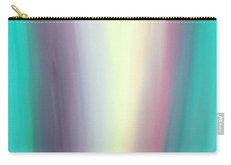 Oils Carry-all Pouch featuring the painting Flowing by Karen Nicholson